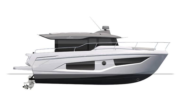 Nya och begagnade Cranchi XT36 båt till salu