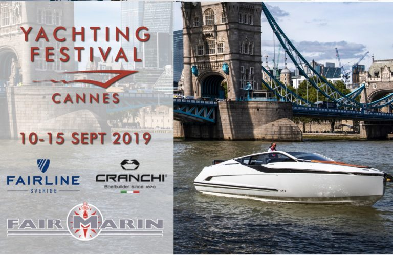 Yachting festival i Cannes 10-15 September 2019