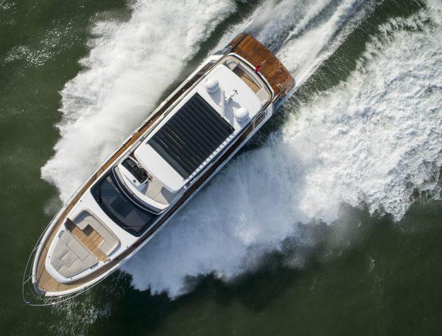 Fairline gör hat-trick med World Yacht Trophies